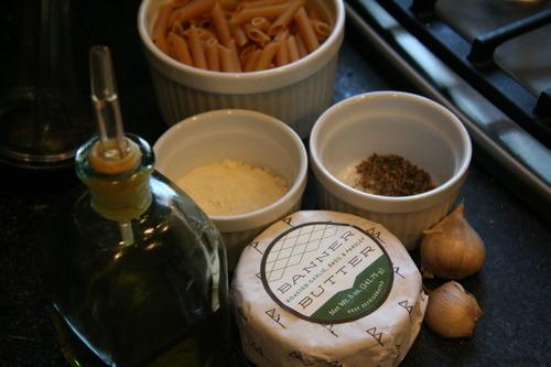Easy Peasy Banner Butter Pasta