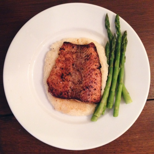 Cinnamon Cardamom Ginger Butter Glazed Salmon