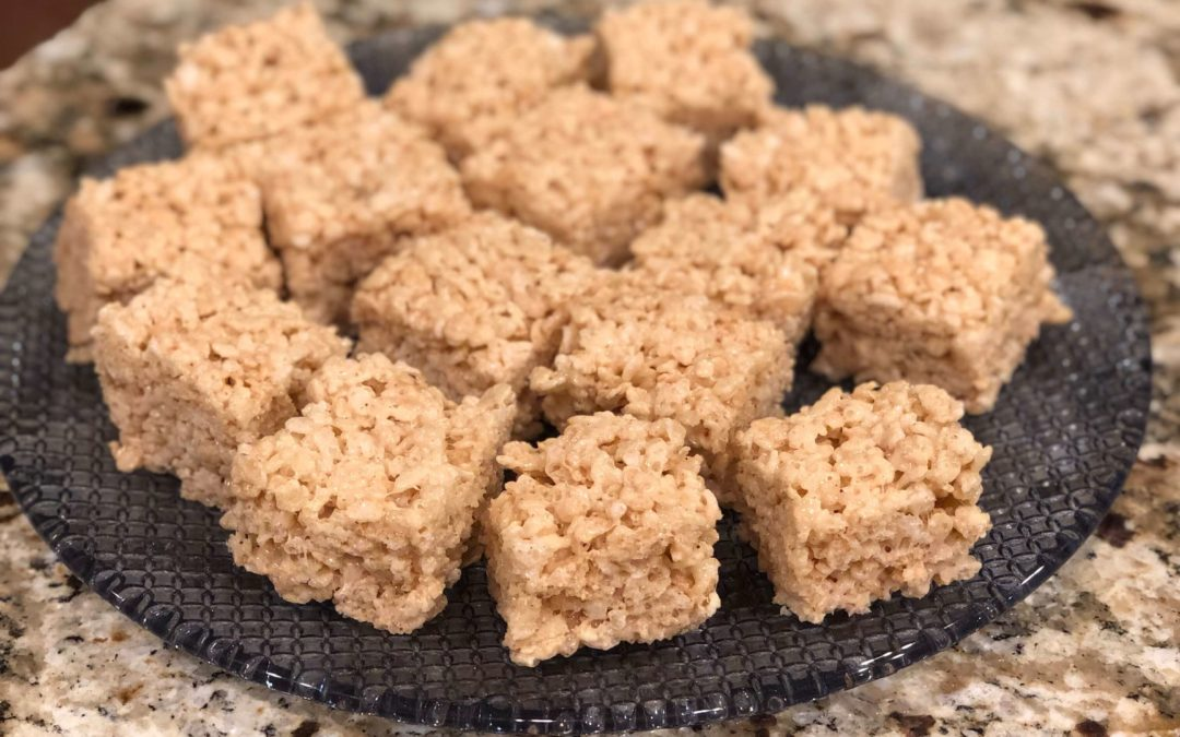 Brown Butter Rice Cereal Treats